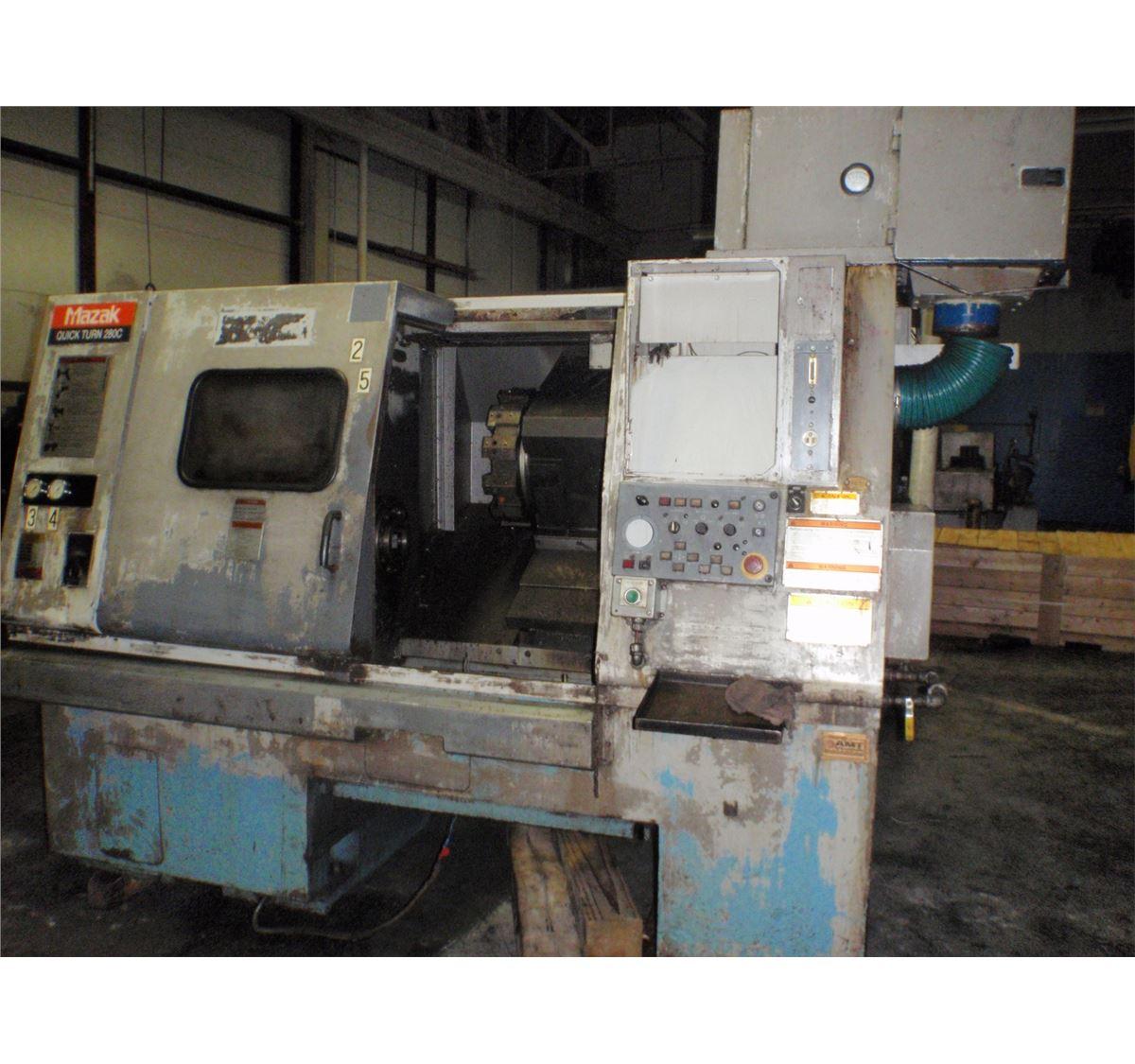 Mazak Quick Turn 280C CNC (Parts)