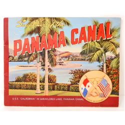 "1941 ""SOUVENIR OF THE PANAMA CANAL"" SOFTCOVER BOOK"