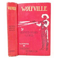 "1897 ""WOLFVILLE"" HARDCOVER BOOK ILLUSTRATED BY FREDERIC REMINGTON"