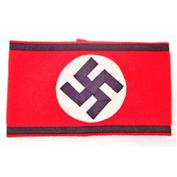 GERMAN NAZI WAFFEN SS OFFICERS SWASTIKA ARM BAND