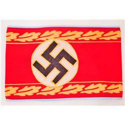 GERMAN NAZI POLITICAL LEADER ORTS ARM BAND