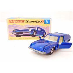 VINTAGE MATCHBOX SUPERFAST LOTUS EUROPA CAR IN ORIG. BOX
