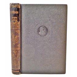 "1947 ""TYPHOON"" BY JOSEPH CONRAD HARDCOVER BOOK"