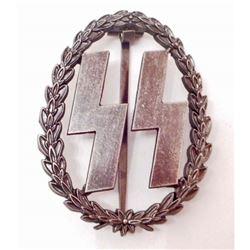 GERMAN NAZI WAFFEN SS RUNIC BADGE
