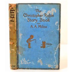"""1929 1ST ED. """"THE CHRISTOPHER ROBIN STORY BOOK"""" HARDCOVER BOOK"""