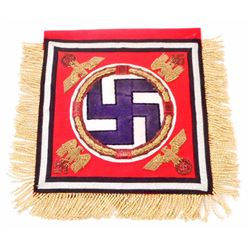 GERMAN NAZI DICTATOR LEIBSTANDART ADOLF HITLER LAH DESK REGIMENTAL FLAG