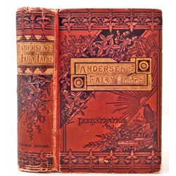 "1880 ""ANDERSEN'S FAIRY TALES"" ILLUSTRATED HARDCOVER BOOK"