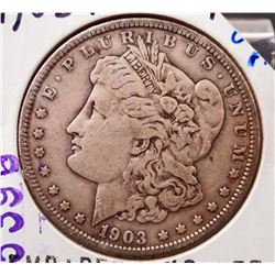 1903-P MORGAN SILVER DOLLAR