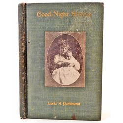 "1908 ""GOOD-NIGHT STORIES"" BY LUCIA PARKHURST"