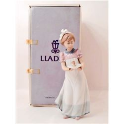 "VINTAGE LLADRO ""HAPPY BIRTHDAY"" FIGURINE W/ ORIGINAL BOX"