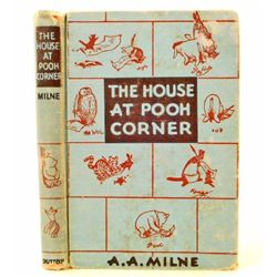 """1950 """"THE HOUSE AT POOH CORNER"""" HARDCOVER BOOK BY A.A. MILNE"""
