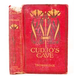 "1891 ""CUDJO'S CAVE"" HARDCOVER BOOK"