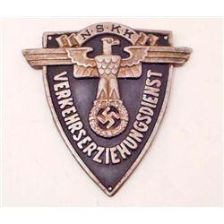 GERMAN NAZI NSKK TRAFFIC SERVICE SHIELD