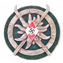 GERMAN NAZI 'SKI FUHRER' SHIELD