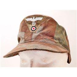 GERMAN NAZI ARMY SPLINTER CAMO FIELD CAP