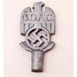 GERMAN NAZI DDAC FLAG POLE TOP
