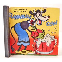 "1938 ""WALT DISNEY'S STORY OF CLARABELLE COW"" HARDCOVER BOOK"