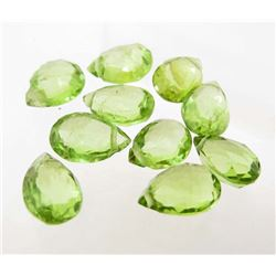 LOT OF 10.19 CTS OF GREEN PAKISTAN PERIDOT