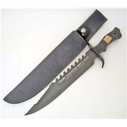 FORCE RECON NIGHT STALKER BOWIE KNIFE W/ SHEATH