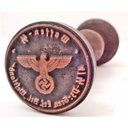GERMAN NAZI WAFFEN WAX SEAL