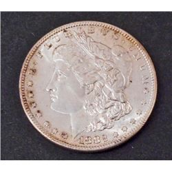 1882-S MORGAN SILVER DOLLAR - PCGS MS64