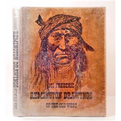 "1969 1ST ED. ""101 FREDERIC REMINGTON DRAWINGS OF THE OLD WEST"" HARDCOVER BOOK"