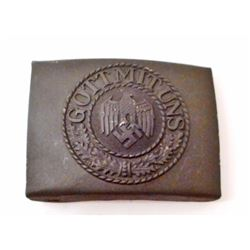 GERMAN NAZI ARMY ENLISTED MANS BELT BUCKLE
