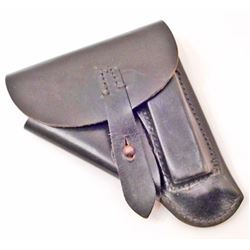 GERMAN NAZI SS WALTHER PP LEATHER PISTOL HOLSTER