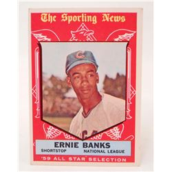 1959 TOPPS #559 ERNIE BANKS BASEBALL CARD