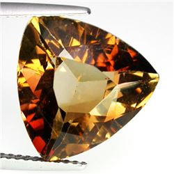 RARE 8.63 CT BROWN CHAMPAGNE TOPAZ
