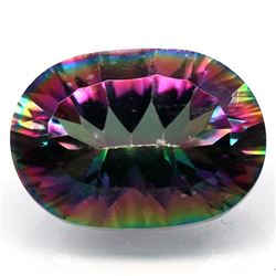 5.91 CT AZOTIC MULTICOLOR MYSTIC AFRICAN QUARTZ