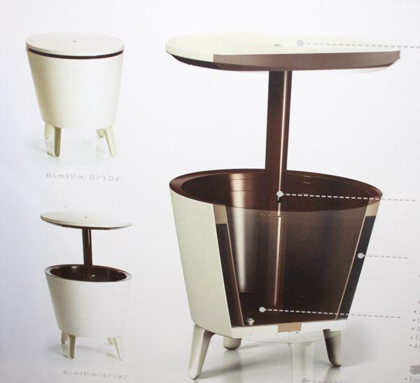 Superb New Cool Bar Table Cooler Combo With Drain Inzonedesignstudio Interior Chair Design Inzonedesignstudiocom