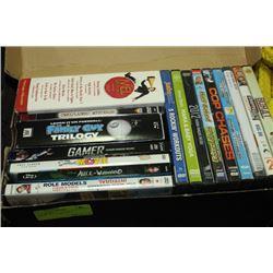 BOX W/ 16 DVD MOVIES