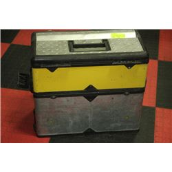 STANLEY 3 COMPARTMENT TOOL BOX
