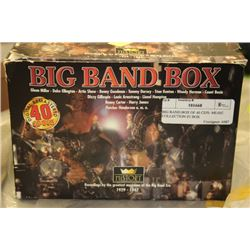 BIG BAND BOX OF 40 CD'S- MUSIC COLLECTION IN BOX
