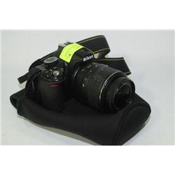 PROFESSIONAL NIKON D3100 DSLR W/ AF-S DX VR 18-55