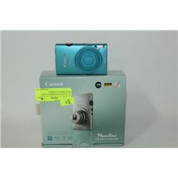 16.1 CANON POWERSHOT LIGHT BLUE DIGITAL CAMERA