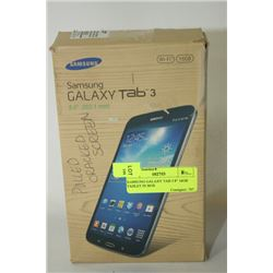 """SAMSUNG GALAXY TAB 3 8"""" 16GB TABLET IN BOX"""