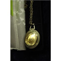 SHEFFIELD WATCH PENDANT WITH CHAIN