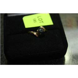 LADIES BLACK DIAMOND RING