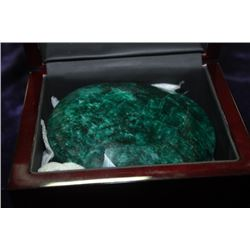 2868.6 CT OVAL SHAPED EMERALD STONE