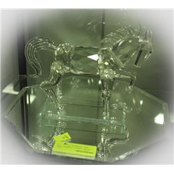 LARGE CRYSTAL HORSE