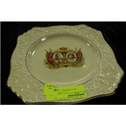 1937 CORONATION OF KING GEORGE VI COLLECTOR PLATE