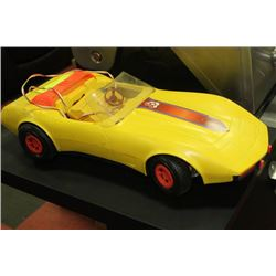 VINTAGE 1979 BARBIE SUPER VETTE ELECTRIC CAR