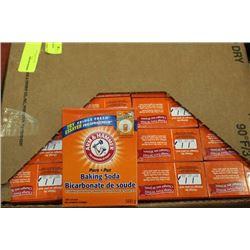 BOX OF 24-500G ARM&HAMMER BAKING SODA