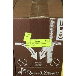 BOX: 10 - 85G RUSSELL STOVER MINT PATTIES