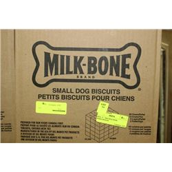 BOX: 12 - 500G MILK BONE MARO-SNACKS