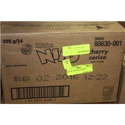 BOX: 24 - 225G NIBS CHERRY