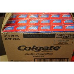 BOX: 24 X 60ML COLGATE TOOTHPASTE
