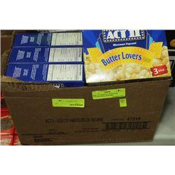 BOX: 12 3-297G ACT II BUTTER LOVERS MICR. POPCORN